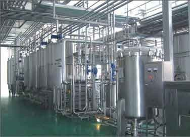 Almond Milk Beverage Production Line, Minuman Minuman Peralatan Manufaktur